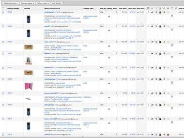 Online Store Ordering Administrator