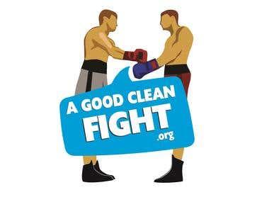 A Good Clean Fight Logo