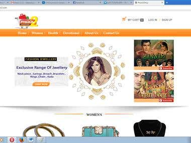 E-commerce Website                            WWW.phool2.com