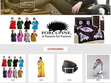 Porcupine Fashion by First Code Technology