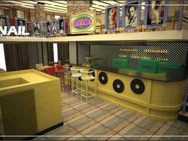 Benzin Cafe/Pub New Design Demo