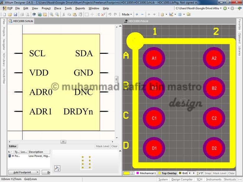 Custom SMD Footprints | Freelancer