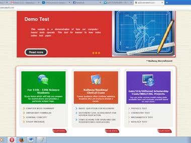 E-Test Portal