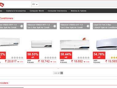 Price Gira - Price comparison website