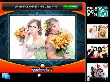 Photo Party Upload - iOS app