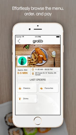 Grabb mobile app - iOS and Android
