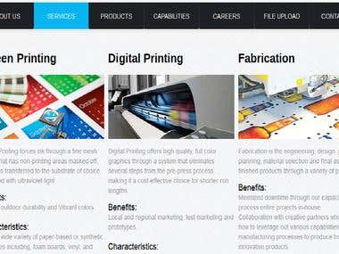 Intranet portal for manufacturing Company - Print media