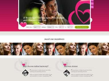 Dating & Matrimony site development in Codeigniter 3