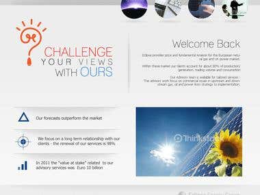 Web Design : Eclipse Energy