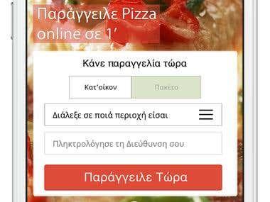 Multi-Platform Food Delivery mobile application