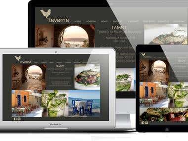 Website for a Restaurant Business