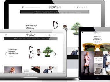 eShop Website Platform