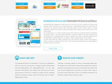 business website use html5 ,css3, jquery