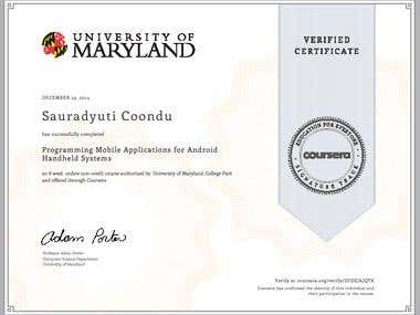Certification - Android