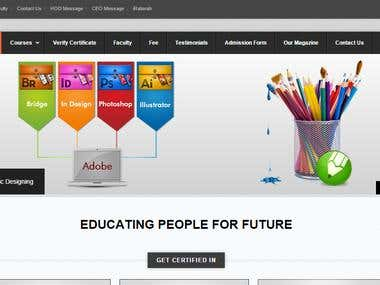 SIIT WordPress based website