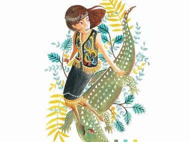 Crocodile Princess