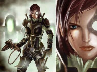 Mass Effect Fanart