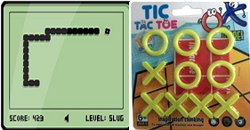 Snake, Tic Tac Toe and Life Game