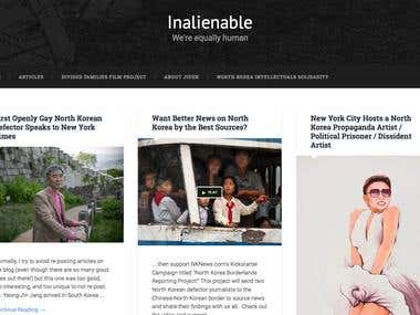 Inalienable blog