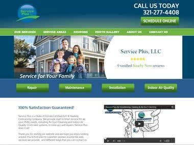 Webdesign, SEO, Hosting - serviceplusfla.com
