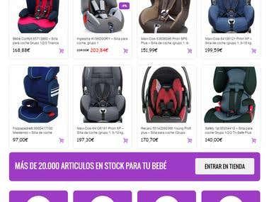 Sitio web Afiliados Amazon