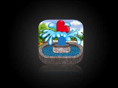 Icon Design for LifeFountain