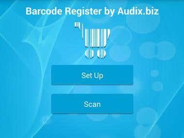 Barcode Register