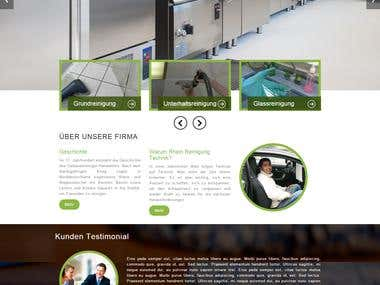 Cleaning Company Site