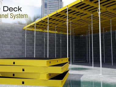 Eco Deck Slab Panel System