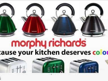 Morphy Richards Promo Banner (AUSTRALIA)