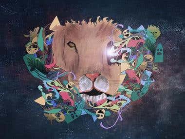 freak lion