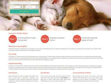 HousingPets.com - Dog Minding, Boarding & Pet Sitting