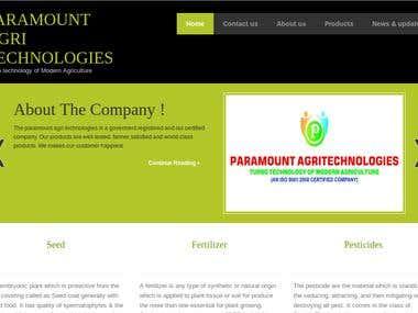 Paramount agri technologies