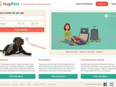 HugPets - Dog Walking, Pet Sitting