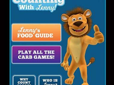 Android Mobile App - Carb Counting with Lenny