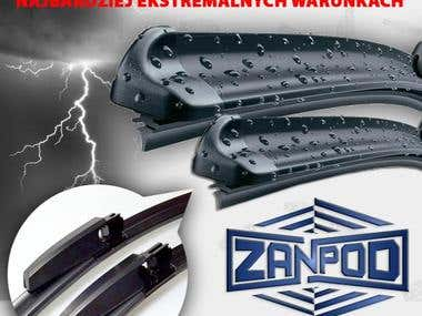 Zanpod wipers graphic