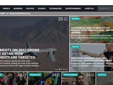 Daily news portal