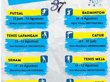 Poster - Sport Competition BPPT
