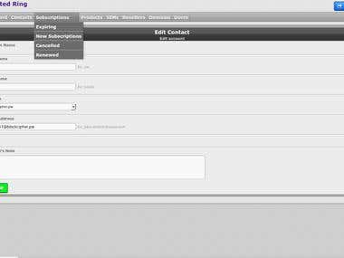Invoicing Portal (Adding new pages & features)