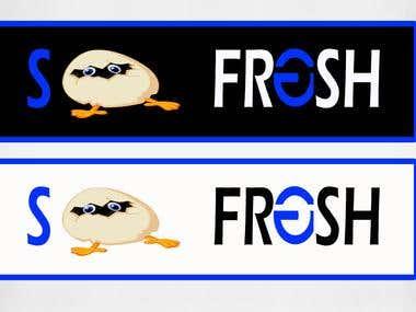 So Fresh Logo Design