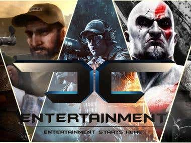 CC Entertainment Website Homepage Banner