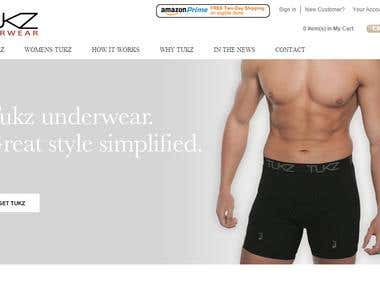 Marketinbg for Tukz Underwear
