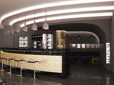 Interior Design, Bar