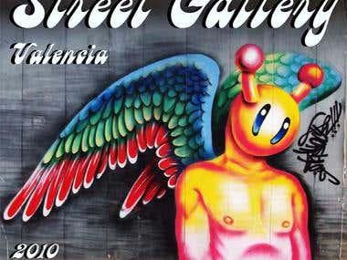 Portada de Revista de Street Art