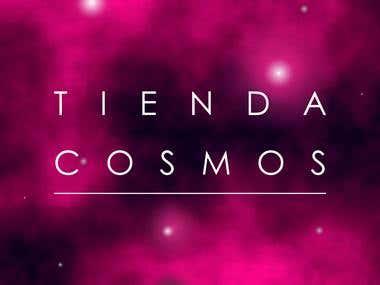 Logo design: Tienda cosmos