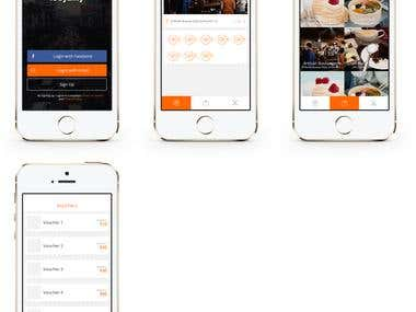 Looyality App Design