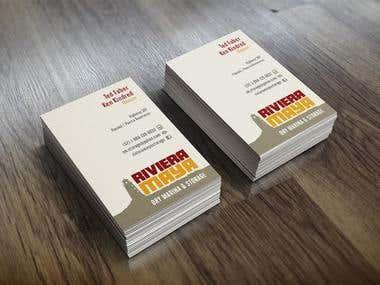 Riviera Maya Business Cards