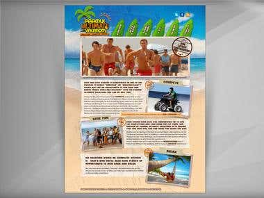 Paamul Ultimate Vacations Website
