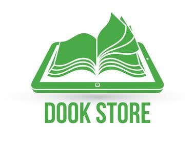 Logo for online book store