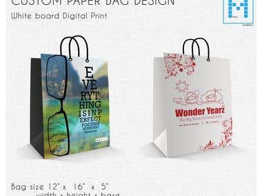 Custom Paper Bag Design
